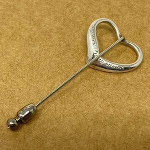 Tiffany & Co. Jewelry - Authentic Tiffany Open Heart Brooch AG925